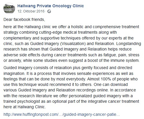 Holistic and comprehensive treatment strategy